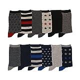 Chaussettes garçon lot de 12 Couleur - Bleu/Rouge/Gris Taille - 36/39