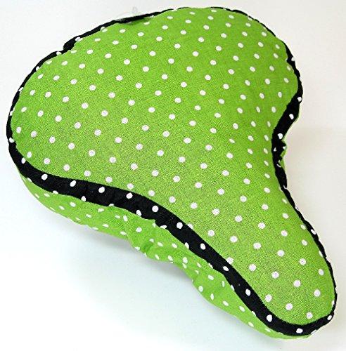 LTJ Wende Satteldecke grün/weiße Punkte - Sattelbezug mit Einer Seite aus wasserbweisendes Polyester die andere Seite ist aus Baumwolle