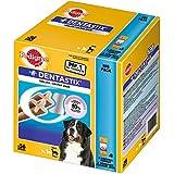 Pedigree DentaStix Hundesnack für große Hunde (25kg+), Zahnpflege-Snack mit Huhn und Rind, 1 Packung je 56 Stück (1 x 2.16 kg)