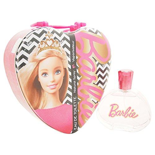 Air Val Barbie Geschenk-Set Herz-Metallkoffer, 1er Pack (1 x 100 ()