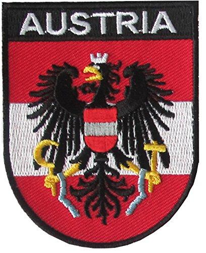 Yantec Wappen Patch Österreich Aufnäher Austria Wappen-patches