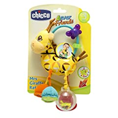 Idea Regalo - Chicco 00007157000000 - Plush Trillino Giraffa
