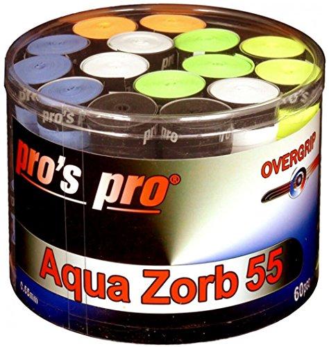 Pros Pro 60er Overgrip Aqua Zorb 55 bunt