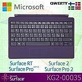 Microsoft Surface RT/Pro (2012)/2/Pro 2Type Cover skandinavischen QWERTY Tastatur mit Backlit Schlüssel–Violett–OEM Box (keine Einzelhandelsverpackung)