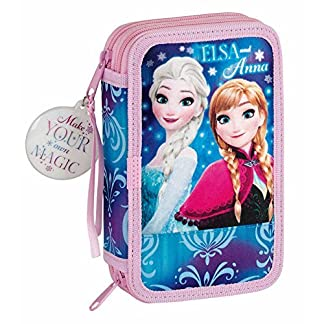 SAFTA Plumier Frozen Disney Northern Lights doble 28pz