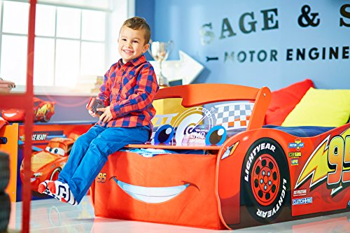 Disney Cars 3 Lightning McQueen Toddler Bed by HelloHome