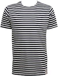 100% Cotton Short Sleeved Breton Stripe T-shirt