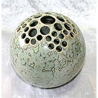 Kugelvase Steckvase Keramik Handarbeit 16 cm