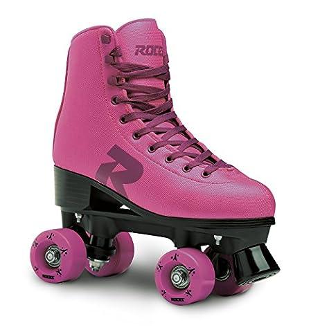 Roces Erwachsene 52 Star Rollerskates Rollschuhe Street, Pink/Violet, 39