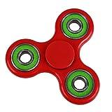 Anself Tri Fidget Dito Mano Spinner Spin Widget Fuoco Giocattolo EDC Tasca Desktoy del Regalo per Bambini Adulti - Anself - amazon.it