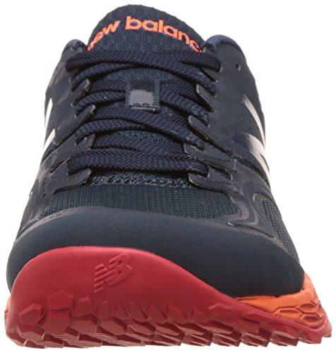 New Balance Mx80br2 Herren Hallenschuhe Grey (Grey/Orange)