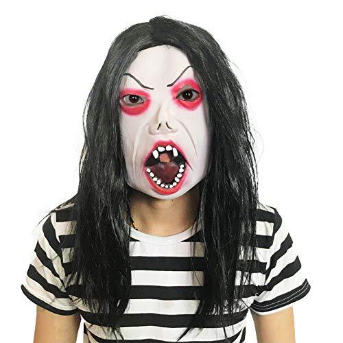 Holloween Masken Latex Creepy Horror Kopf Masken Gesicht Schrecklich Für Halloween Kostüm Party Erwachsene Männer Frauen (Holloween Kostüm Männer)