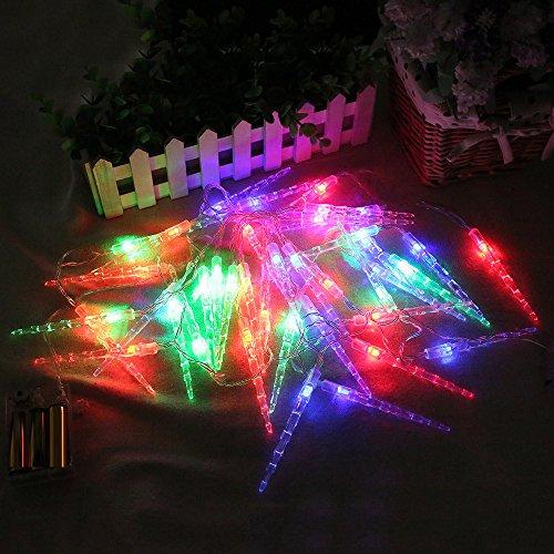 Dkings Beste Weihnachtsdekoration !!! Dkings 2M 20LED Solar Cork Weinflasche Stopper Kupferdraht Lichterkette Fairy Lampen, genießen Sie eine warme Atmosphäre (Multicolor) (2m Ohrhörer)