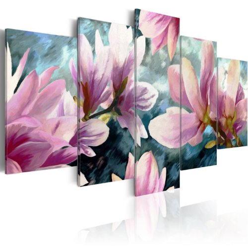 murando - Cuadro en Lienzo 200x100 cm - Impresion en calidad fotografica - Cuadro en lienzo tejido-no tejido - flores 020110-76