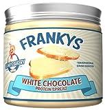 Frankys Bakery Protein Chocolate Spread Schokoaufstrich Aufstrich Protein Eiweiß Brotaufstrich Diät (White Chocolate -Weiße Schokolade)