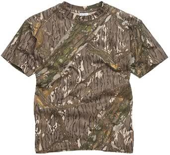 RTC US Military Style T-Shirt - Mossy Oak/Tree Bark Camouflage