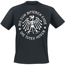 Die Toten Hosen Bis zum bitteren Ende T-Shirt schwarz