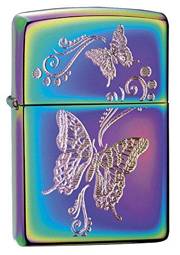 Zippo Feuerzeug, Butterflies Butterfly Schmetterling, Spectrum Finish
