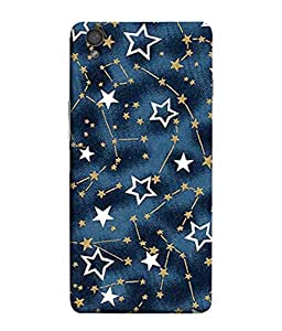 PrintVisa Designer Back Case Cover for OnePlus X :: One Plus X (White Gold Abstract Illustration Colorful Decorative Graphic Attractive)
