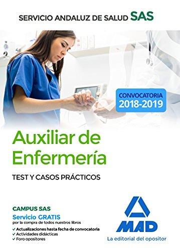 Auxiliar Enfermería del Servicio Andaluz de Salud. Test y casos prácticos