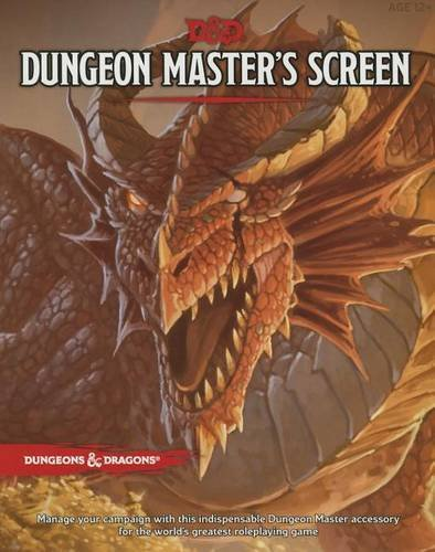 D&D Dungeon Master's Screen (D&D Accessory) Cover Free Screen