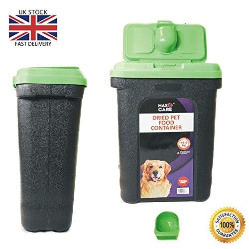 Contenedor de almacenamiento de alimentos secos, para mascotas, perro, gato, animal, pájaro, semillas, caja de almacenamiento.