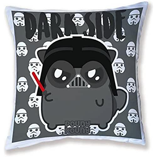 star wars kawaii Cojín Decoración pouny pouny Dark Side Darth Vader (Star Wars) Chibi y Kawaii–Licencia officelle pouny pouny–Chamalow Shop