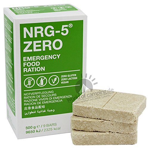 Not Catering NRG 5Zero sin gluten supervivencia
