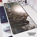 Musica mouse pad gomma giocatore personalità nuova tastiera portatile grande tavolo mat 1 600x300x2