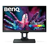BenQ PD2500Q Monitor per Designer 25 Pollici QHD, 2560 x 1440 QHD, CAD/CAM, Darkroom Mode, Low Blue Light, Flicker-Free, Nero