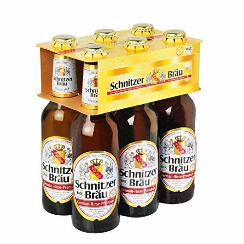 Schnitzerbräu glutenfreies Bie r - 6er Pack, Bio