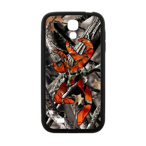 Browning Camo Deer Hunter Cell Phone Case for Samsung Galaxy S4