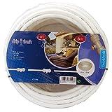 Drip&Fresh Rollo de tubería blanca con tratamiento anti UV, 6 m, Multicolor, 1x1x1 cm, C5108