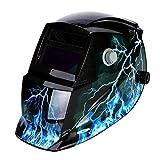 LESOLEIL Eléctrico Casco de Soldadura Automático Solar Energía Máscara de Fotosensible Máscara de Soldador Clase de eficiencia energética