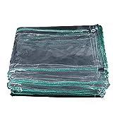 Telo Impermeabile Impermeabile Di Spessore Trasparente Protezione Solare In PVC Panno Di Plastica Esterna Tela Cerata Trasparente Balcone Tenda Antipioggia Multi-size Opzionale ( dimensioni : 2x2.5m )