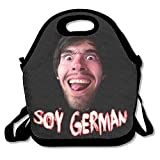 Holasoygerman Lunch Bag Tote Handbag