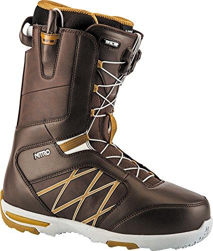 Nitro Snowboards Herren Anthem Tls'18 Snowboard Boot, Brown, 29 (Freestyle Burton Snowboard Boots)