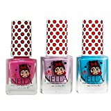 Die besten Non Toxic Nagellacke - Miss Nella Mermaid Blau, Bubble Gum, Tickle Me Bewertungen
