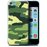 Coque de Stuff4 / Coque pour Apple iPhone 5C / Vert 2 Design / Armée/Marine militaire/Camouflage Collection