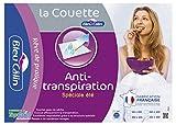 Bleu Câlin Couette Anti-Transpiration TopCool Blanc 240x260 cm KTO20