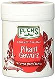 Fuchs Würzen statt Salzen 'Pikant' Salzersatz Gewürzmischung, auf Paprikabasis, Gewürz zum Kochen und Würzen ohne Salz, Menge: 3 Stück á 60 g
