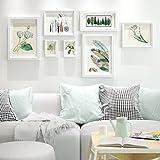 LI SHI JIE SHOP Moderne Fotowand des Festen Holzes - Multifunktionsfotorahmenwand - Mehrbildfotorahmen - DIY Fotorahmenwand (Color : #2)