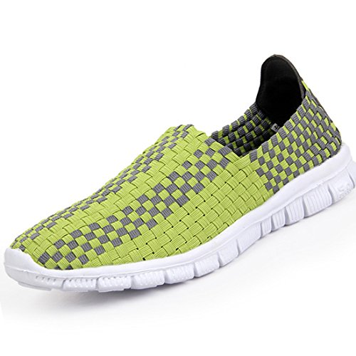 Men's Stretch Fabric Comfortable Outdoor Casual Shoes green
