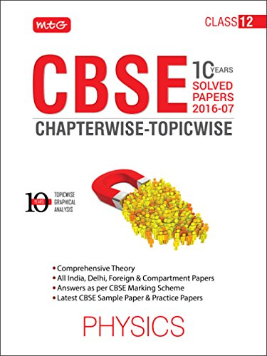 10 Years CBSE Chapterwise-Topicwise: Physics
