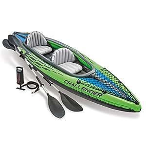 Intex Kayak - Challenger 2 - Pour 2 personnes - Vert