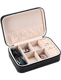 Caja de Joyería,Asixx, Organizador de Maquillaje, Caja Para Gafas, Una Caja de Almacenamiento Multifuncional Para Almacenar Anillos,…