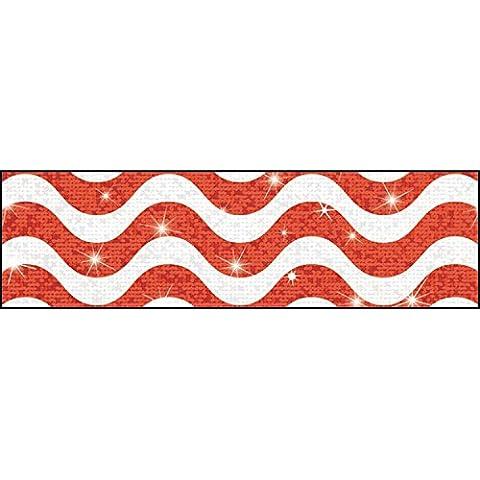 Wavy Red Sparkle Plus BB by Trend Enterprises Inc