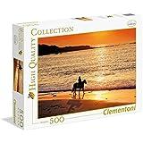 Clementoni - Puzzle de 500 piezas, High Quality, diseño Paseo Al Atardecer (304752)