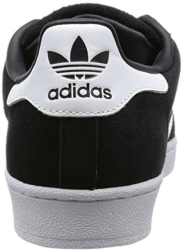 adidas Superstar Suede, Chaussures de Basketball Homme Noir (Core Black/Ftwr White/Core Black)