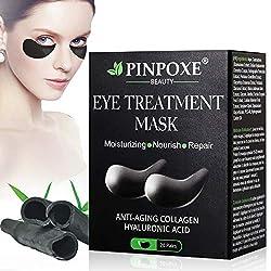 Eye Mask, Eye Pads, Anti Aging Eye Patches, Eye Patches, Collagen Dark Circles Eye Pads, Hyaluronic Eye Care, Moisturizing Dispensers, Removing Bags, Dark Circles & Puffiness, 20pairs